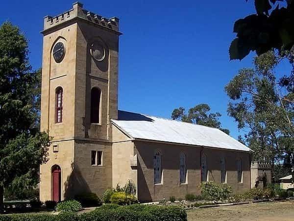 history of richmond tasmania churches