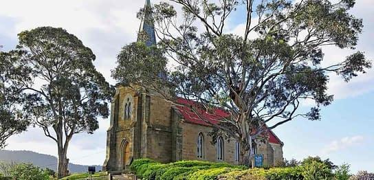 St John's Church Richmond Tasmania