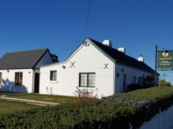 accommodation richmond barracks